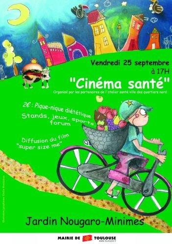 Flyer Cinéma Santé (Recto)
